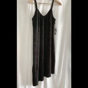 🌵SFW Black Dress Size S. Suede fabric.